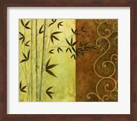 Framed Bamboo Elegance I