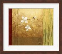 Framed Grass Abstract I