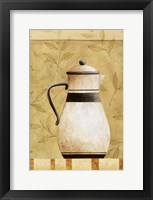 Coffee Pot I Framed Print