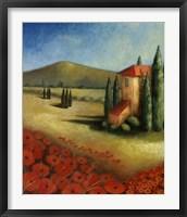 Cypress I Framed Print