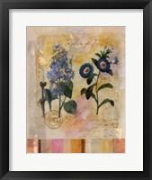 Floral Postcard II Framed Print