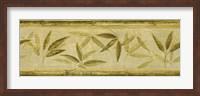 Framed Bamboo Leaf Panel