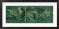 Framed Fern Panel