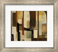 Framed Brown And Soft I