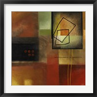 Framed Warm Reflections II