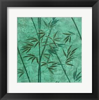 Framed Bamboo Green
