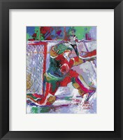 Framed Goalie