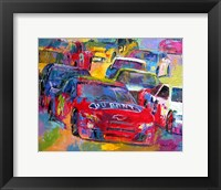 Framed Jeff Gordon