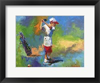 Framed Kid Golf