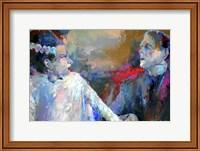 Framed Frankenstein and His Bride