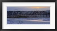 Framed Early Morning Winter