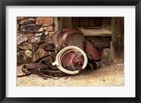 Framed Head Wrangelrs Saddle