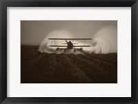 Framed Crop Duster I