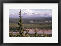 Framed Mt Drum