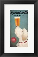 Framed Doodle Beer Double