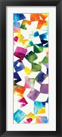 Colorful Cubes II Framed Print