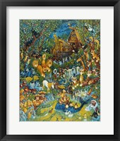 Framed Noah And The Last Unicorn