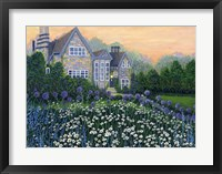 Framed English Cottage lg