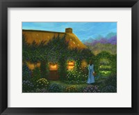 Framed Irish Cottage