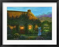 Framed Irish Cottage
