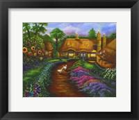 Framed Honeymoon Cottage