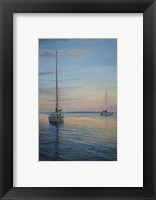 Framed Restful Sails