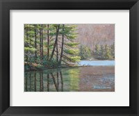 Framed Pine Lake