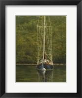 Framed Essex Sailboat