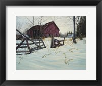 Framed Oxford Barn
