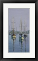 Framed Stonington Sail Boats