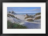 Framed Buxton Sand Dunes