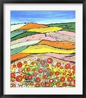 Framed Colours Of Spring