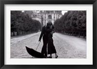 Framed Parisian Kiss