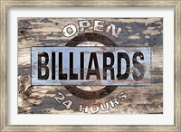 Framed Billiards Ii