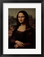Framed Mona Lisa 3275