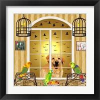 Framed Bird Dogs IV