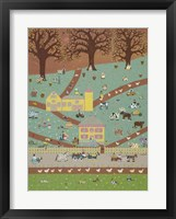 Farm Folks Framed Print