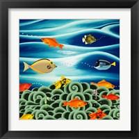 Framed Fishtales I