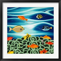 Fishtales I Framed Print