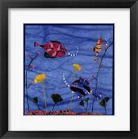Framed Tropical Fish 2