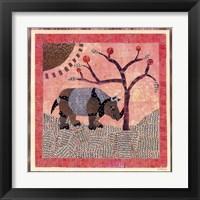 Framed Rhinoceros II