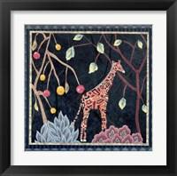 Framed Giraffe II
