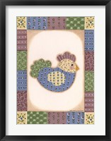 Chicken V Framed Print