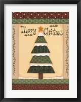 Christmas Quilts IV Framed Print