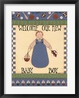 Welcome Baby II Framed Print