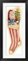 Framed Merrry Christmas Stocking