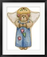 Framed Boy Bear Angel