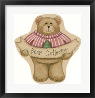 Framed Bear Collector