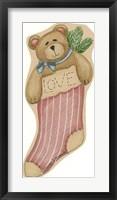 Framed Love Bear