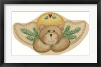 Framed Bear With Wings